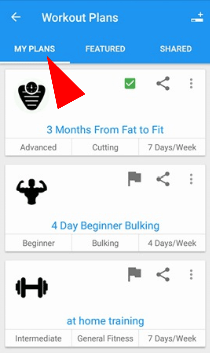 Reorder Exercises - Android and IOS | Jefit - #1 Gym workout app